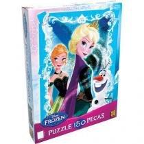 Quebra Cabeça Puzzle 150 Peças Frozen - Grow - Grow