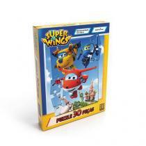 Quebra-Cabeça Puzzle 30 Peças Super Wings - Grow - Grow