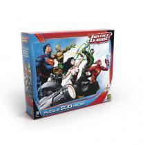 Quebra-Cabeça Puzzle 500 Peças Liga Da Justiça - Grow - Grow