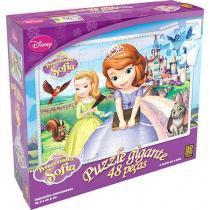 Quebra-Cabeça Puzzle Gigante Princesinha Sofia 48 Peças - Grow - Grow