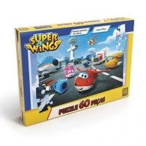 Quebra-Cabeça Puzzle P60 Super Wings - Grow - Grow