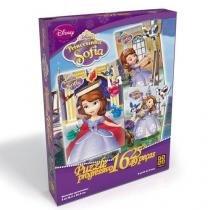 Quebra-Cabeça Puzzle Progressivo Princesinha Sofia - Grow - Grow