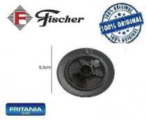 Queimador auxiliar com aba fischer novo esmaltado c 326 - Fritania