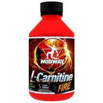 Queimador de Gordura L-Carnitine Fire 240ml - Midway