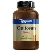 Quitosana OTC - 120 Cápsulas - VitaminLife -