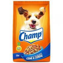 Ração Champ Carne e Cereais para Cães Adultos -