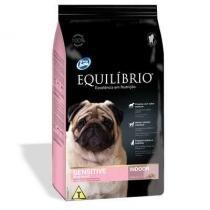 Ração equilibrio cães sensiveis raças pequenas 2kg - Total alimentos