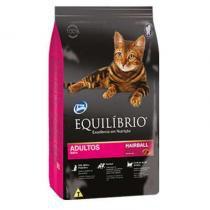 Ração equilibrio feline adulto hairball 1,5kg - Total alimentos