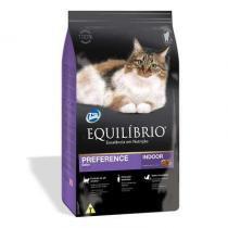 Ração equilibrio feline adulto preference indoor 1,5kg - Total alimentos