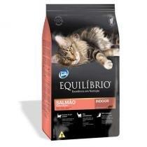 Ração equilibrio feline adulto salmão indoor 1,5kg - Total alimentos