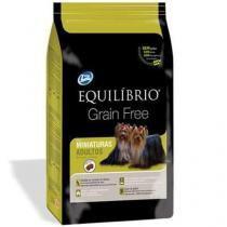 Ração equilibrio grain free adulto miniaturas 1kg - Total alimentos