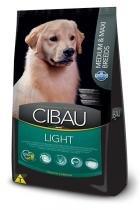 Ração Farmina Cibau Light para Cães Adultos com Tendência Obesidade de Raças Médias e Grandes - 12 kg -