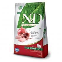 Ração Farmina ND Grain Free Frango Cães Adultos Raças Grandes - 10,1 kg - Nd - grain free