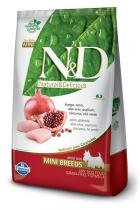 Ração Farmina ND Grain Free Frango Cães Adultos Raças Requenas - 2,5 kg - Nd - grain free