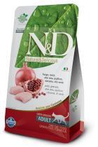 Ração Farmina ND Grain Free Frango para Gatos Adultos - 10,1 kg - Nd - grain free