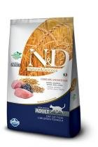 Ração Farmina ND Low Grain Cordeiro para Gatos Adultos - 10,1 kg - Nd - low grain
