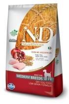 Ração Farmina ND Low Grain Frango Cães Adultos de Raças Médias - 10,1 kg - Nd - low grain