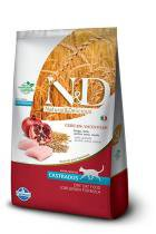 Ração Farmina ND Low Grain Frango Para Gatos Castrados - 10,1 kg - Nd - low grain