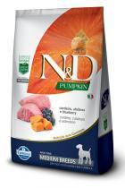 Ração Farmina ND Pumpkin Cordeiro para Cães Adultos de Raças Médias - 10,1 kg - Nd - pumpkin