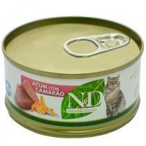 Ração Farmina ND Úmida de Atum e Camarão para Gatos - 70 g -