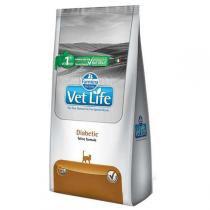 Ração Farmina Vet Life Diabetic para Gatos Adultos Diabéticos -