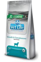 Ração Farmina Vet Life Growth  Convalescence para Cães Adultos em Recuperação Nutricional - 2 kg -