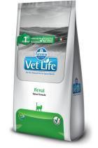 Ração Farmina Vet Life Natural Renal para Gatos Adultos com Problemas Renais - 2 kg -