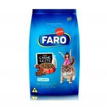 Ração FARO Gatos Filhotes Carne e Leite 1 KG - Faro