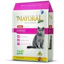 Ração fórmula natural gatos castrados 1kg - Adimax