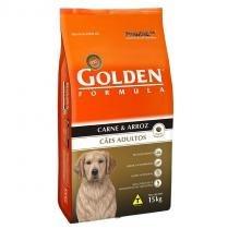 Ração Golden Cães Adulto - Carne - 15kg -