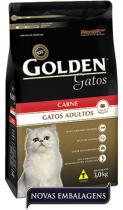 Ração Golden para Gato Adulto - Carne - 3kg -