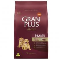 Ração Guabi Gran Plus Menu Carne e Arroz para Cães Filhotes -