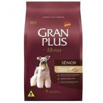 Ração Guabi Gran Plus Menu Sênior Frango e Arroz para Cães Idosos -
