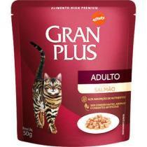 Ração Guabi Gran Plus Sachê Salmão para Gatos Adultos - Guabi