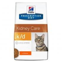 Ração Hills Prescription Diet K/D Cuidado Renal Para Gatos Adultos Com Doença Renal - 1,8kg -