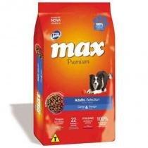 Ração Max Cães - Selection Adulto - 15kg - Max - total alimentos