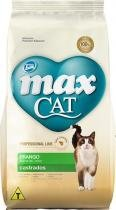 Ração Max Cat - castrado - Total Alimentos - 10,1 kg - Max - total alimentos