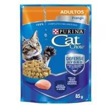 Ração Nestlé Purina Cat Chow Adultos Sachê Frango ao Molho -