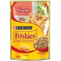 Ração Nestlé Purina Friskies Sachê Frango ao Molho para Gatos -