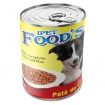 Ração para cães adultos ipet foods lata patê de carne 280g -