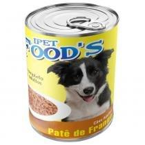 Ração para cães adultos ipet foods lata patê de frango 280g - Ipet