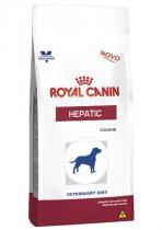 Ração Royal Canin Canine Veterinary Diet Hepatic para Cães Adultos com Problemas Hepáticos - 2 KG -