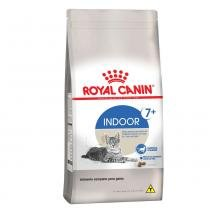 Ração Royal Canin Indoor 7+ para gatos adultos que vivem em ambientes internos a partir de 7 anos de idade - 400 gr -
