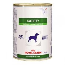 Ração Royal Canin Lata Canine Veterinary Diet Satiety Support Wet para Cães Adult Obesos - 410 g -