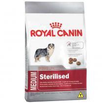Ração Royal Canin Medium Sterilised para cães adultos castrados de porte médio - 10,1 kg -
