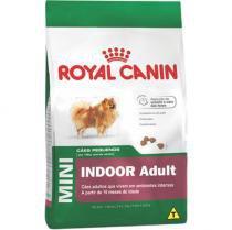 Ração Royal Canin Mini Indoor Junior para Cães Filhotes de Raças Pequenas em Ambientes Internos - 1K -