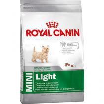 Ração royal canin mini light para cães adultos de raças pequenas com tendência a obesidade - 1kg -