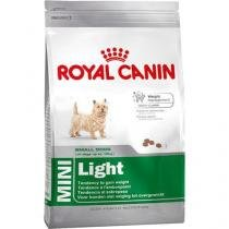 Ração royal canin mini light para cães adultos de raças pequenas com tendência a obesidade - 7,5kg -