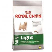 Ração Royal Canin Mini Light para cães adultos e maduros de porte pequeno com tendência à obesidade - 2,5 kg -