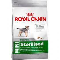 Ração Royal Canin Mini Sterilised para Cães Adultos Castrados de Raças Pequenas - 1kg -